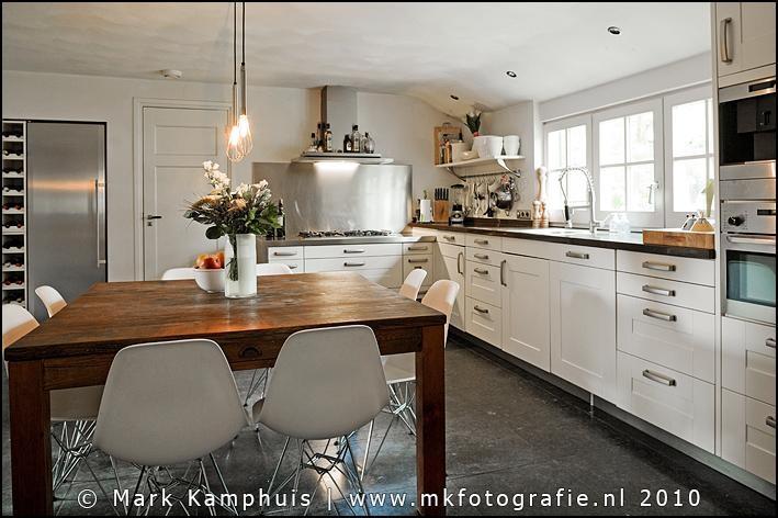 Moderne Keuken Boerderij : Prachtige combi moderne keuken in een ...